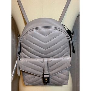 Botkier Dakota Gray Leather Backpack $198